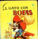 Libros antiguos: EL GATO CON BOTAS (GALAS INFANTILES MATEU, S.F.). Lote 117676671
