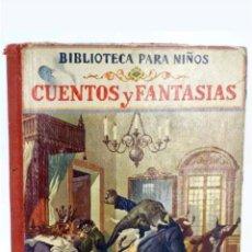 Alte Bücher - Libro cuentos y fantasias con 27 grabados 1928 - 117689111