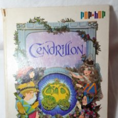 Libros antiguos: CENDRILLON, CUENTO POP-UP EN FRANCES. Lote 117724775