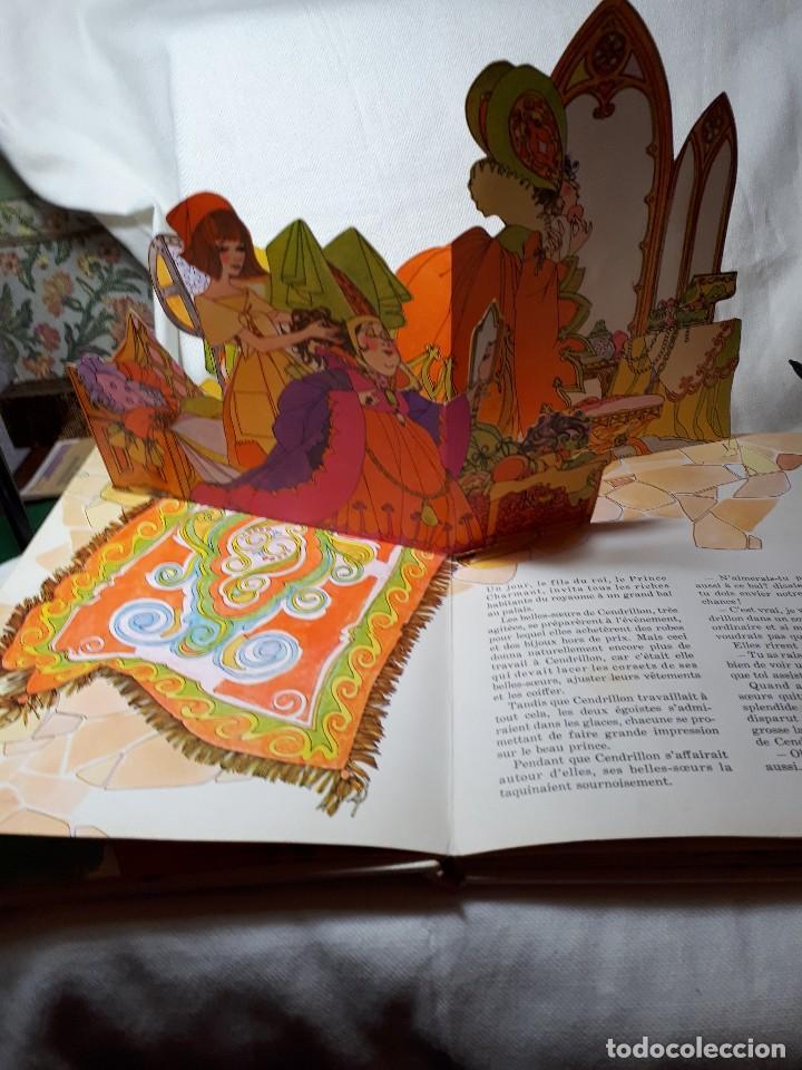 Libros antiguos: CENDRILLON, cuento pop-up en frances - Foto 2 - 117724775