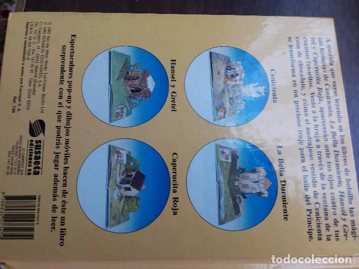 MI FANTASTICO LIBRO DE CUENTOS TRIDIMENSIONAL 1992+ ATLAS VISUAL DE TRANSPARENCIAS. ED.SUSAETA (Libros Antiguos, Raros y Curiosos - Literatura Infantil y Juvenil - Cuentos)