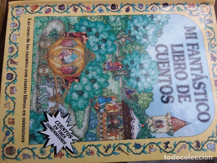 Libros antiguos: MI FANTASTICO LIBRO DE CUENTOS TRIDIMENSIONAL 1992+ Atlas visual de transparencias. Ed.Susaeta - Foto 2 - 117747799