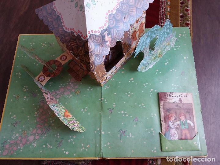Libros antiguos: MI FANTASTICO LIBRO DE CUENTOS TRIDIMENSIONAL 1992+ Atlas visual de transparencias. Ed.Susaeta - Foto 6 - 117747799