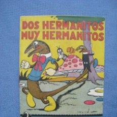 Libros antiguos: DOS HERMANITOS MUY HERMANITOS. CUENTOS ILUSTRADOS CISNE. SERIE MARIQUITA 9. GERPLA. Lote 118002203