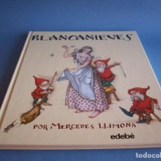 Libros antiguos: BLANCANIEVES POR MERCEDES LLIMONA, EDITORIAL EDEBÉ,2006. Lote 118077479