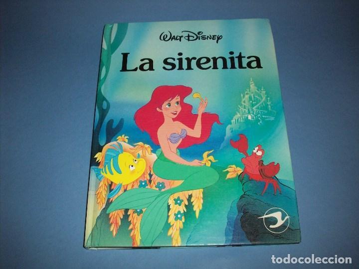 LA SIRENITA DE DISNEY EDICIONES GAVIOTA (Libros Antiguos, Raros y Curiosos - Literatura Infantil y Juvenil - Cuentos)