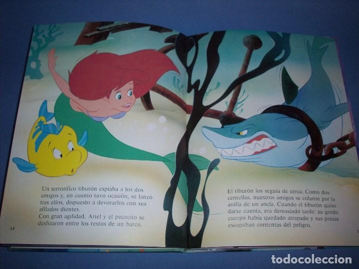 Libros antiguos: La sirenita de disney ediciones gaviota - Foto 2 - 194758301