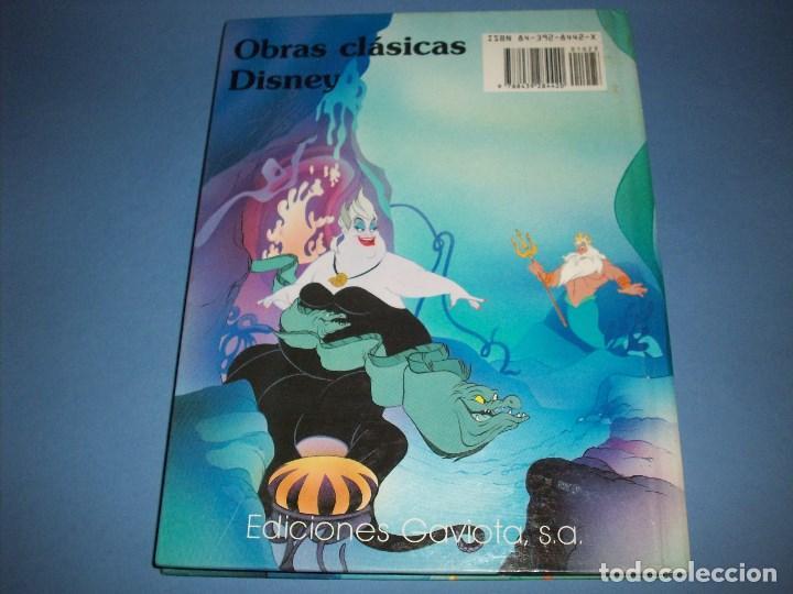 Libros antiguos: La sirenita de disney ediciones gaviota - Foto 3 - 194758301