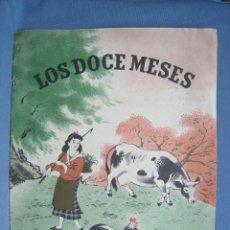 Libros antiguos: LOS DOCE MESES. LEYENDA TARTARA. SEIX BARRAL. 1948. ILUSTRA LAU. CUENTO ORIGIN. Lote 118359039