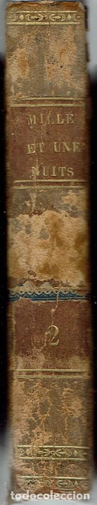 Libros antiguos: LES MILLE ET UNE NUITS, POR A. GALLAND. TOME SECOND. AÑO 1825 (10.3) - Foto 4 - 118360771