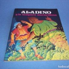 Libros antiguos: ALADINO Y LA LAMPARA MARAVILLOSA COLECCION FANTASIA. Lote 118716655