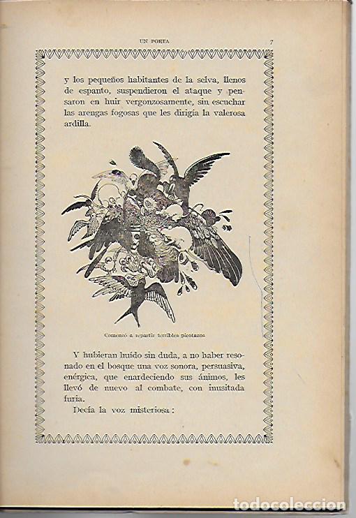 Libros antiguos: Un poeta. Huelga de mariposas / M. Marinel·lo; il. R. Opisso. BCN : Ll. Camí, s.f. 25x17cm. 31 p. - Foto 4 - 118928483