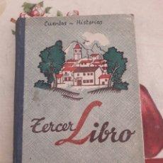 Libros antiguos: TERCER LIBRO. JOAQUÍN PLA CARGOL. DCP 1934. 216 PÁGINAS.. Lote 118930200