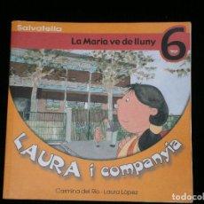 Libros antiguos: F1 LAURA I COMPAYIA LA MARIA VE DE LLUNY 6 CARMINA DEL RIO-LAURA LOPEZ. Lote 119118839