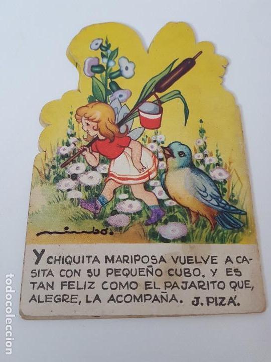 Libros antiguos: CUENTO TROQUELADO CHIQUITA MARIPOSA ( EDIT. ROMA ) - Foto 2 - 119169203