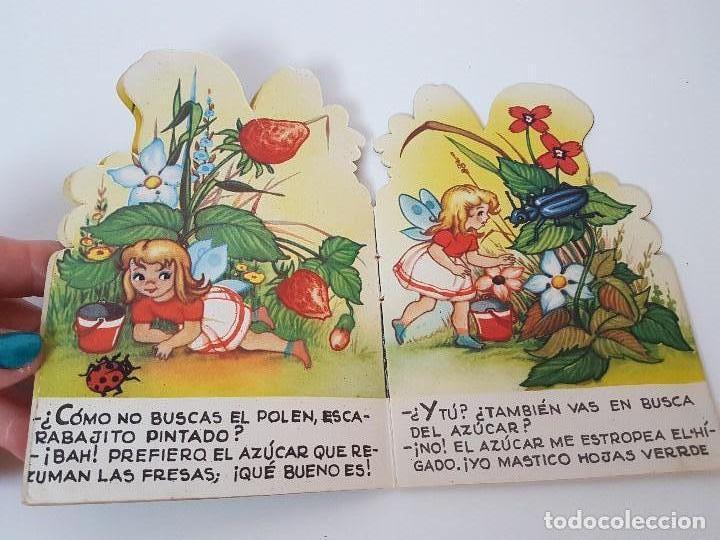 Libros antiguos: CUENTO TROQUELADO CHIQUITA MARIPOSA ( EDIT. ROMA ) - Foto 3 - 119169203