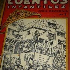 Libros antiguos: CUENTOS INFANTILES ILUSTRADOS ,SERIE OSVERNIA.NUM 2,:EL RUBÍ DE LA DIADEMA. Lote 119386731