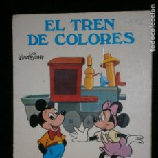 Libros antiguos: F1 EL TREN DE COLORES WALT DISNEY .COLOREA. Lote 119467811