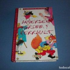 Libros antiguos: ANDERSEN, GRIMM Y PERRAULT CUENTOS DE SIEMPRE MARIA PASCUAL SERVILIBRO. Lote 119613031