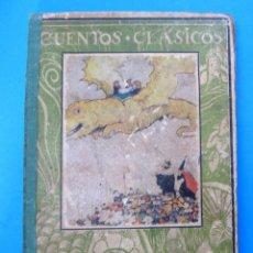 Libros antiguos: CUENTOS CLÁSICOS. LA GATA BLANCA, LA PRINCESA CIERVA. EDITORIAL JUVENTUD, 1932.. Lote 119649203