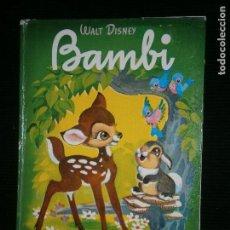 Libros antiguos: F1 BAMBI WALT DISNEY. Lote 120057711