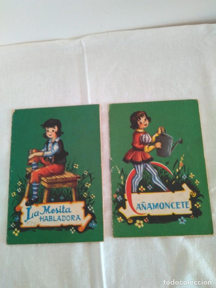 LA MESITA HABLADORA+CAÑAMONCETE. COLECCIÓN MIMOSA. (Libros Antiguos, Raros y Curiosos - Literatura Infantil y Juvenil - Cuentos)