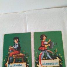 Libros antiguos: LA MESITA HABLADORA+CAÑAMONCETE. COLECCIÓN MIMOSA.. Lote 120350271
