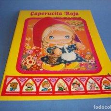 Libros antiguos: CARRUSEL DE CUENTOS CLASICOS CAPERUCITA ROJA. Lote 120431279