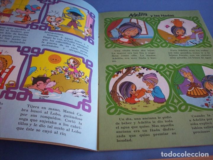Libros antiguos: carrusel de cuentos clasicos caperucita roja - Foto 2 - 120431279