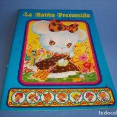 Libros antiguos: CARRUSEL DE CUENTOS CLASICOS LA RATITA PRESUMIDA. Lote 120431659