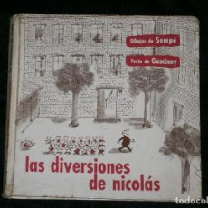Libros antiguos: F1 LAS DIVERSIONES DE NICOLAS DIBUJOS DE SEMPE TEXTO DE GOSCINNY . Lote 121048075