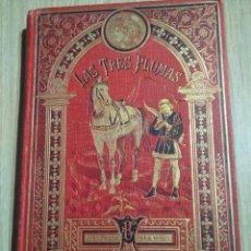 Libros antiguos: BONITO LIBRO CON SIETE CUENTOS DE CALLEJA LAS TRES PLUMAS LA PRINCESA HECHICERA, CON ILUSTRACIONES. Lote 121127011