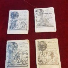 Libros antiguos: LOTE 4 CUENTOS DE CALLEJA CUENTOS DE COLOR DE ROSA. Lote 121274162