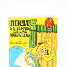 Libros antiguos - Libro En Miniatura Alicia En El País De Las Maravillas / Mini Infancia -Bruguera - 1ª edición 1969 - 121880548