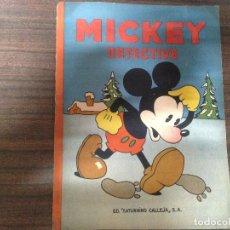 Libros antiguos: ANTIGUO CUENTO ILUSTRADO MICKEY DETECTIVE ED SATURNINO CALLEJA 1936. Lote 121894571