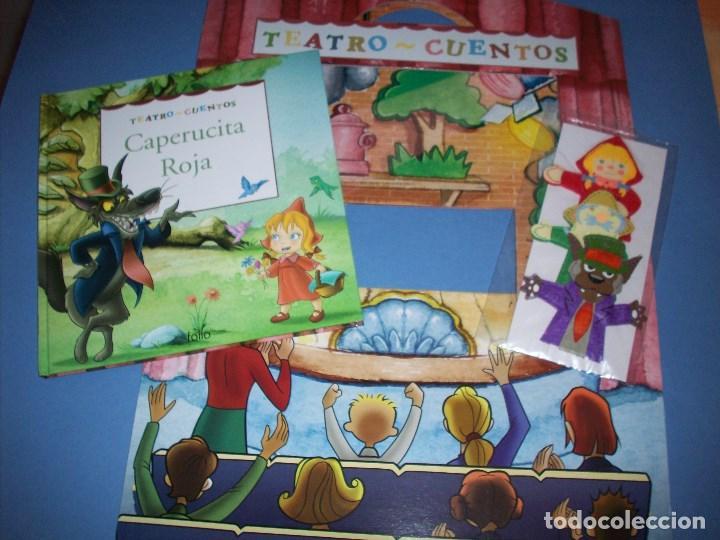 TEATRO CUENTOS CAPERUCITA ROJA CON MARIONETAS (Libros Antiguos, Raros y Curiosos - Literatura Infantil y Juvenil - Cuentos)