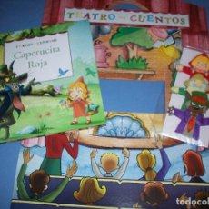 Libros antiguos: TEATRO CUENTOS CAPERUCITA ROJA CON MARIONETAS. Lote 122164567