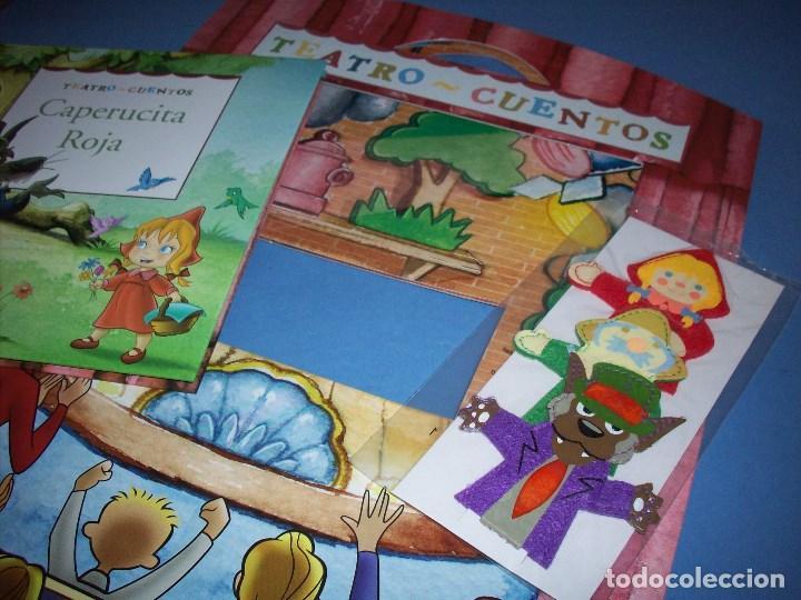Libros antiguos: teatro cuentos caperucita roja con marionetas - Foto 2 - 122164567