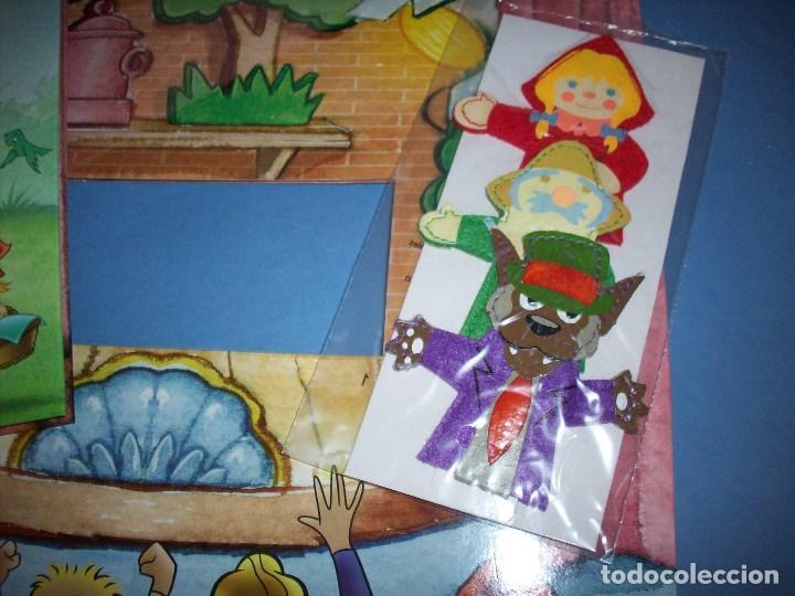 Libros antiguos: teatro cuentos caperucita roja con marionetas - Foto 3 - 122164567