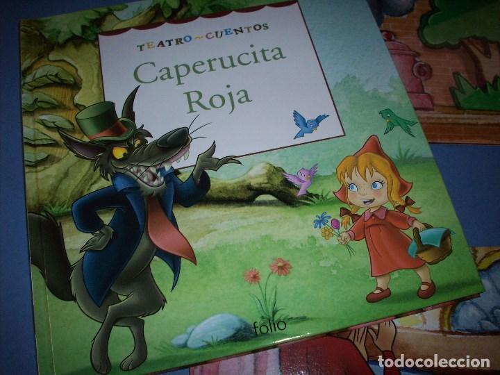 Libros antiguos: teatro cuentos caperucita roja con marionetas - Foto 4 - 122164567