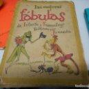 Libros antiguos: 1940 EDICION DE 5000 EJEMPLARES LAS MEJORES FABULAS DE IRIARTE Y SAMANIEGO POR JUNCEDA. Lote 122251491