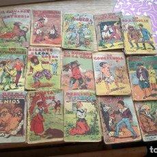 Libros antiguos: LOTE DE 19 CUENTOS DE CALLEJA. Lote 122465231