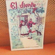 Alte Bücher - EL DIENTE DE PERLA,CALLEJA,TOMO 114,PPIO DEL S.XX - 122814387