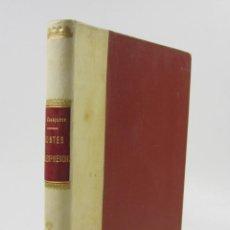 Libros antiguos: CONTES VALLESPIRENCHS, ESTÈVE CASEPONCE, PERPINYÀ. 14,5X22,5CM. Lote 123313919