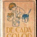 Libros antiguos: SURIÑACH BAELLS : DE CADA COLOR - NINOTS D'EN JUNCEDA (BIBL. PATUFET, Nº 6 - BAGUÑÀ, 1908) CATALÁN. Lote 123683739