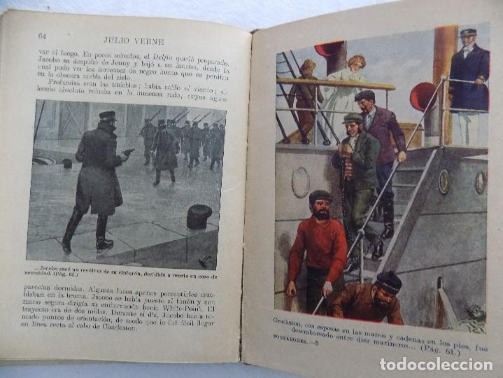 Libros antiguos: LIBRERIA GHOTICA.JULIO VERNE. LOS FORZADORES DEL BLOQUEO. RAMON SOPENA. NUMERO 38. 1920. ILUSTRADO - Foto 2 - 124193991
