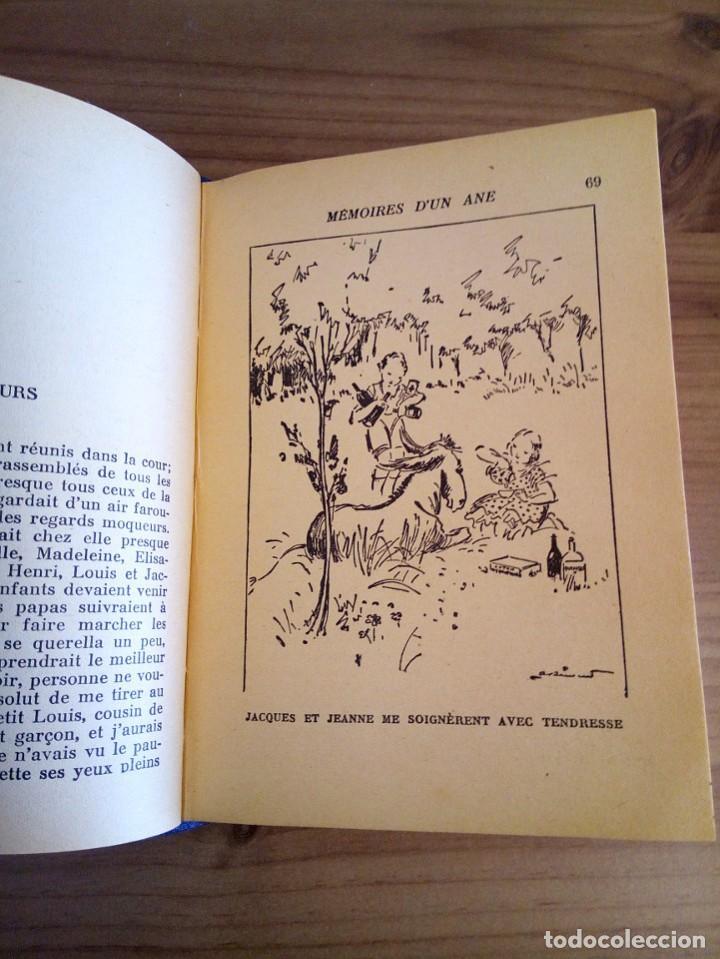 Libros antiguos: LES MÉMOIRES D´ UN ÂNE. COMTESSE DE SEGUR. HACHETTE. 1930 - Foto 8 - 124458923