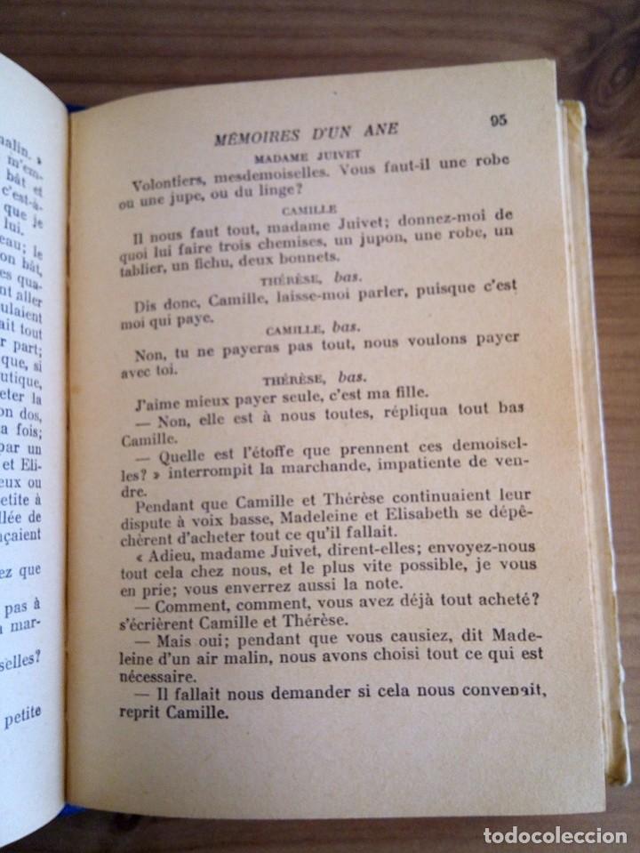 Libros antiguos: LES MÉMOIRES D´ UN ÂNE. COMTESSE DE SEGUR. HACHETTE. 1930 - Foto 9 - 124458923
