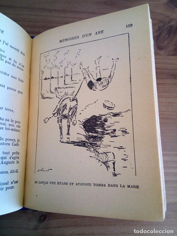 Libros antiguos: LES MÉMOIRES D´ UN ÂNE. COMTESSE DE SEGUR. HACHETTE. 1930 - Foto 10 - 124458923