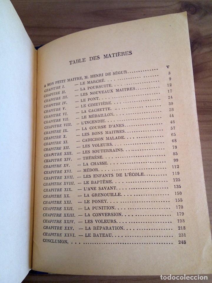 Libros antiguos: LES MÉMOIRES D´ UN ÂNE. COMTESSE DE SEGUR. HACHETTE. 1930 - Foto 11 - 124458923